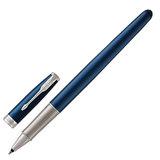 """Ручка-роллер PARKER """"Sonnet Lacquer CT"""", корпус синий лак, нержавеющая сталь, палладиевое покрытие деталей, черная, 1948087"""