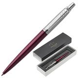 """Ручка шариковая PARKER """"Jotter Core Portobello Purple CT"""", корпус пурпурный, хромированные детали, синяя, 1953192"""