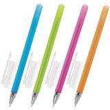 "Ручка шариковая масляная BRAUBERG ""FRUITY ST"", СИНЯЯ, корпус soft touch, узел 0,7 мм, линия письма 0,35 мм, 142654"