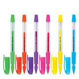 """Ручка гелевая PENSAN """"Neon Gel"""", узел 1 мм, линия 0,5 мм, дисплей, неон, ассорти, 2290/S"""