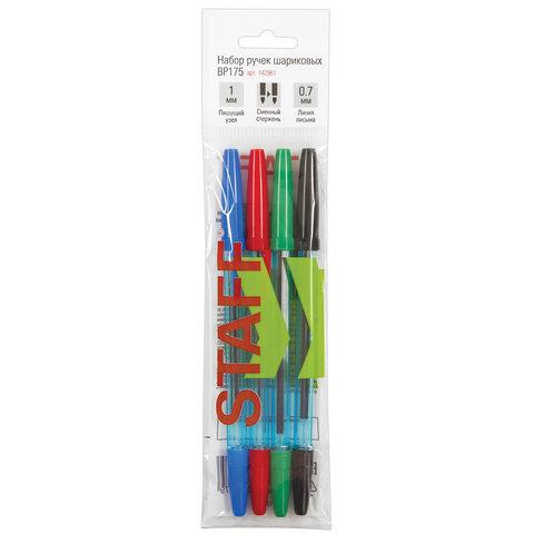 Ручки шариковые STAFF