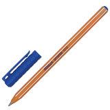 Ручка шариковая масляная PENSAN Officepen 1010, СИНЯЯ, корпус оранжевый, 1 мм, линия 0,8 мм, 1010/60