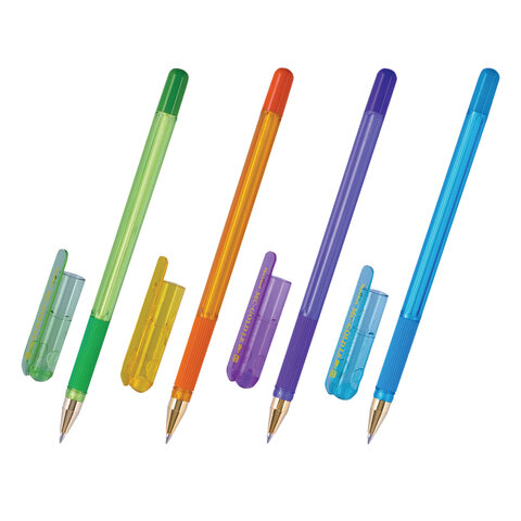 Ручка шариковая масляная с грипом MUNHWA