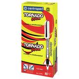 """Ручка-роллер СИНЯЯ CENTROPEN """"Tornado Cool"""", корпус ассорти, узел 0,5 мм, линия письма 0,3 мм, 4775, 3 4775 1001"""
