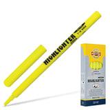 Текстмаркер KOH-I-NOOR скошенный наконечник 1-4 мм, желтый, 7720040101KS