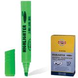 Текстмаркер KOH-I-NOOR, скошенный наконечник 1-5 мм, зеленый, 7722062501KSRU