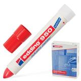 Маркер-паста для промышленной маркировки EDDING 950, КРАСНЫЙ, 10 мм, E-950/2