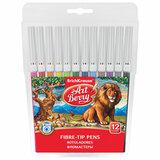 """Фломастеры ERICH KRAUSE """"Artberry"""" 12 цветов, суперсмываемые, вентилируемый колпачок, пластиковая упаковка, 38564, 47880"""