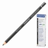 Маркер-карандаш сухой перманентный для любой поверхности STAEDTLER, ЧЕРНЫЙ, 4,5 мм, 108 20-9