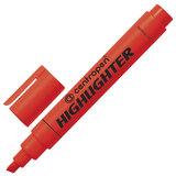 Текстмаркер CENTROPEN, скошенный наконечник 1-4,6 мм, неоновый красный, 8852/1К
