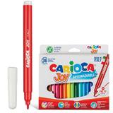 """Фломастеры CARIOCA (Италия) """"Joy"""", 36 цветов, суперсмываемые, вентилируемый колпачок, картонная коробка, 40616"""
