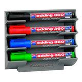 Держатель магнитный для 4 маркеров для доски (150х130 мм), EDDING, E-BMA/3