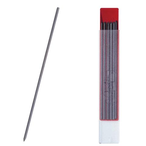 Грифель запасной для циркуля и цангового карандаша KOH-I-NOOR НВ 2 мм, 12 шт., 4190/НВ