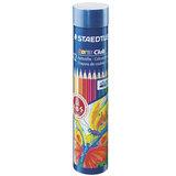 """Карандаши цветные STAEDTLER (Германия) """"Noris club"""", 12 цветов, заточенные, металлический тубус, 144 NMD12"""
