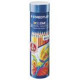 """Карандаши цветные STAEDTLER (Германия) """"Noris club"""", 24 цвета, заточенные, металлический тубус, 144 NMD24"""