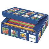 """Карандаши цветные STAEDTLER (Германия) """"Noris Club"""", 12 цветов, 144 штуки, заточенные, class pack, 144 C144"""