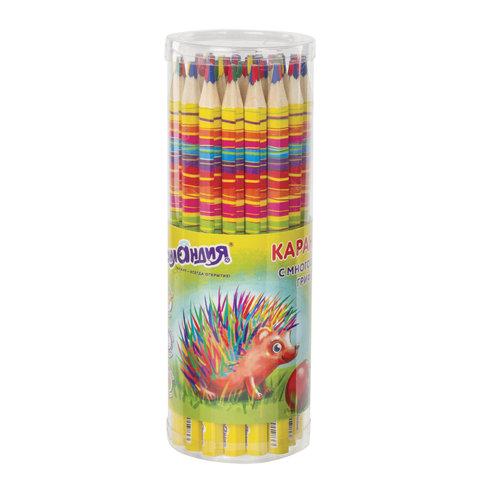 Карандаш с многоцветным грифелем, 1 шт., ЮНЛАНДИЯ