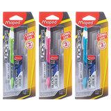 """Набор MAPED (Франция) """"Black Pep's"""": механический карандаш 0,5 мм, корпус ассорти + сменные грифели, 564052"""