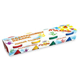 """Краски пальчиковые ГАММА """"Малыш"""", 4 цвета по 90 мл, на водной основе, в баночках, 214001"""