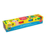 Краски пальчиковые ERICH KRAUSE Artberry, 4 цвета по 35 мл, на водной основе, в баночках, 41751