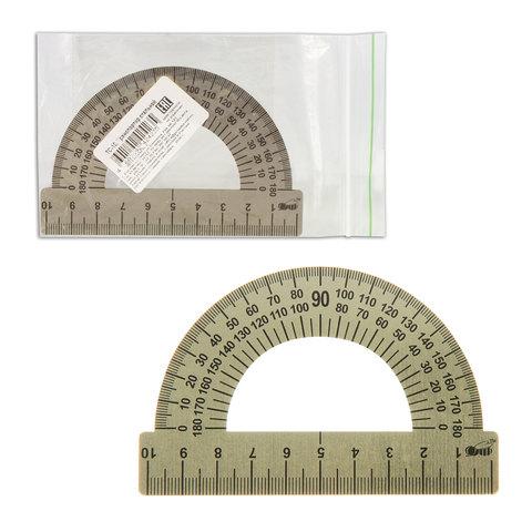 Транспортир металлический 10 см