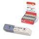 Резинка стирательная KOH-I-NOOR прямоугольная, скошенные углы, 50х13х7 мм, двухцветная, картонный дисплей, 6541060007KDRU