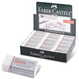 """Ластик FABER-CASTELL """"Dust Free"""", 41х18,5х11,5 мм, белый, прямоугольный, ПВХ, 187130"""
