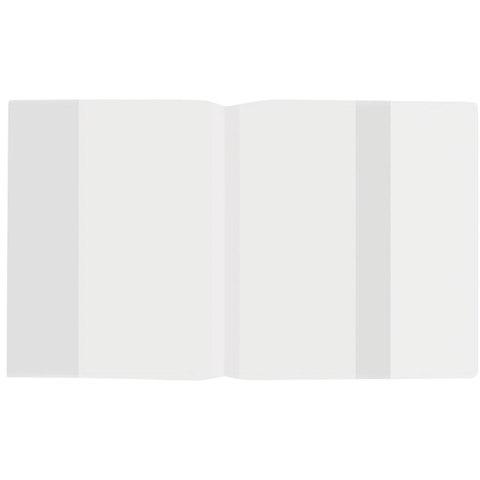 Обложка ПП для учебника и тетради, А4, STAFF/ПИФАГОР, универсальная, плотная, 300х590 мм, 223076