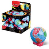 """Точилка MAPED (Франция) """"Globe"""", металлический контейнер, в форме глобуса, 051111"""