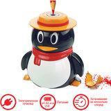 """Точилка электрическая BRAUBERG """"Пингвин"""", питание от USB/4 батареек АА, 223569"""