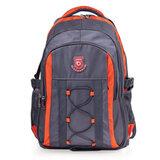 "Рюкзак для школы и офиса BRAUBERG ""SpeedWay 1"", 25 л, размер 46х32х19 см, ткань, серо-оранжевый, 224447"