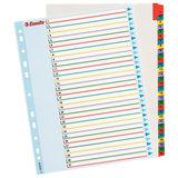 Разделитель документов для папок А4+ (305х245 мм) картонный, цифровой 1-31, ESSELTE, 100210