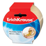Клейкая лента 48 мм х 50 м, упаковочная ERICH KRAUSE, прозрачная, 45 мкм, 25031