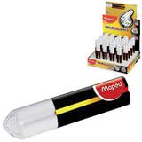 """Резинка стирательная MAPED (Франция) """"X Pert Stick"""", 70х13,73х13 мм, белая, картонный держатель, дисплей, 119811"""