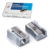"""Точилка BEIFA (Бэйфа) """"A Plus"""", металлическая клиновидная, в картонной коробке, AG1004A/AG1004"""