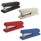 Степлер KW-trio №24/6, до 30 листов, ассорти (черный, синий, красный, светло-серый), -5850