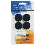 Сменные запасные части для дырокола KW-trio 9550, комплект 2 ножа и 4 пластиковых диска, блистер, 1300534, -1300534