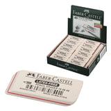 """Резинка стирательная FABER-CASTELL """"7008"""", для графитных карандашей, каучук, 50x19x8мм, белая, 180840"""