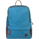 """Рюкзак BRAUBERG для старшеклассников/студентов/молодежи, холщовый, """"Джинс"""", 12 литров, 32х25х11 см, 225295"""