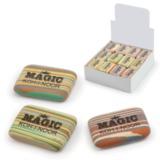 """Резинка стирательная KOH-I-NOOR """"Magic"""", прямоугольная, 35x24x8 мм, разноцветная, ассорти, дисплей, 6516040001KD"""