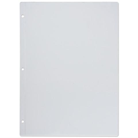 Папки-файлы перфорированные, А4, комплект 10 шт., для МЕНЮ, 3 отверстия (расстояние между отверстиями 108 мм), 0,12 мм, ДПС, 1272/3