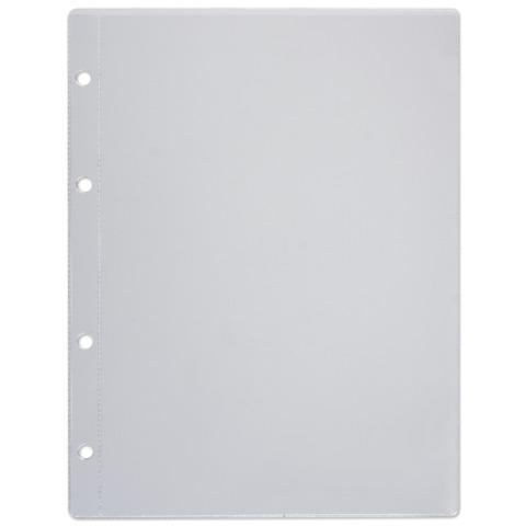 """Папка-файл перфорированная, А5, 4 отверстия (расстояние между отверстиями 45/65/45 мм), 0,12 мм, """"ДПС"""", 1046/4"""