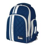 Рюкзак TIGER FAMILY (ТАЙГЕР) для средней школы, универсальный, темно-синий, 39х31х22 см, 19 л, 31101A