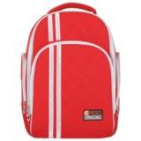 Рюкзак с ортопедической спинкой TIGER FAMILY (ТАЙГЕР) Полосы, красный, 19 л, 39х31х22 см, 31101B