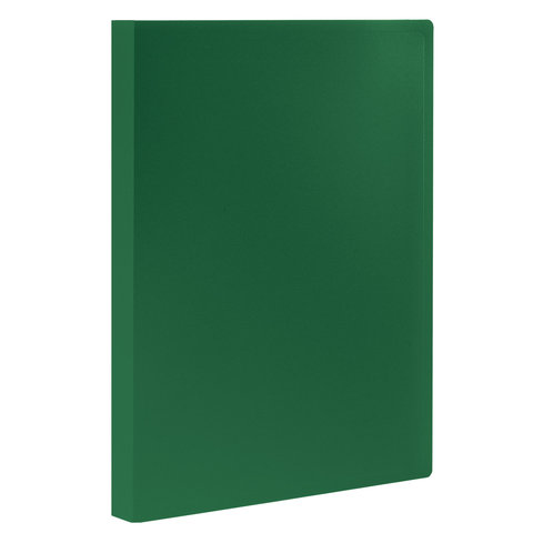 Папка 20 вкладышей STAFF, зеленая, 0,5 мм, 225695