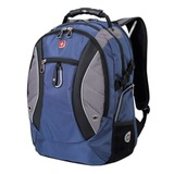 Рюкзак WENGER (Швейцария), универсальный, сине-серый, 39 литров, 35х23х48 см, 1015315