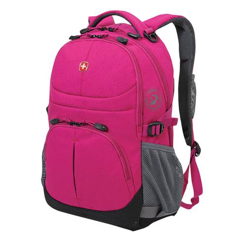 Рюкзак WENGER, универсальный, фуксия (пурпурный), 22 л, 34х14х46 см, 3001932408