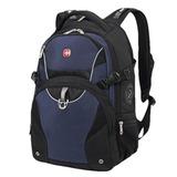 Рюкзак WENGER (Швейцария), универсальный, черно-синий, 32 литра, 36х19х47 см, 3263203410