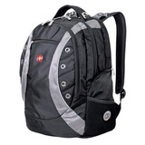 Рюкзак WENGER (Швейцария), универсальный, черно-серый, 32 литра, 36х21х47 см, 1191215