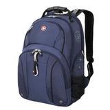 Рюкзак WENGER (Швейцария), универсальный, сине-черный, 26 литров, 34х16х48 см, 3253303408